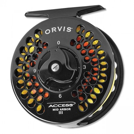 ORVIS ACCESS MID-ARBOR FLY REELS IV Black #7/8