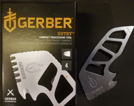 Gerber Gutsy compact processing tool